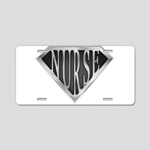 spr_nurse_xc Aluminum License Plate